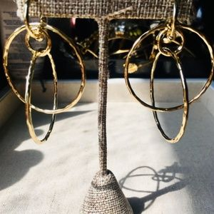 :: S&D x Rebecca Minkoff Gold Hoops